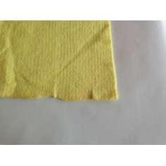 Muestra comercial de fieltro de Kevlar para confección, ropa y protecciones 200gr/m2 - Tejido estilo polar - Ancho 145 cm.