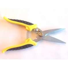 Tijeras microserradas y asistidas, especiales para cortar Kevlar y Carbono