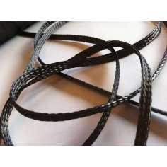 Manga Tubular trenzada de fibra de carbono de 10mm Ø