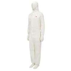 Buzo blanco de protección 3M™ 4545 - Talla Mediana
