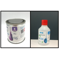 KIT FOR EPOXY MOLDS FOR SLOW CURE - 675 gr.