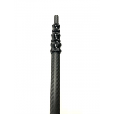 Ampliación telescópica para pértiga en fibra de carbono - LONGITUD: hasta 5,4 metros