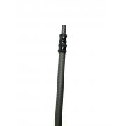 Telescopic extension for carbon fiber pole - LENGTH: up to 3,6 meters