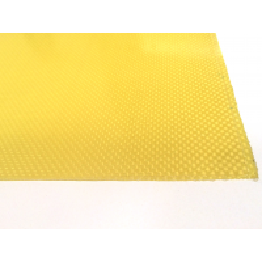 Kevlar fiber plate two sides - 400 x 250 x 1 mm.