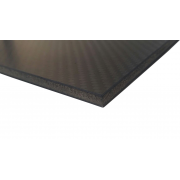 Carbon fiber sandwich plate with inner core - 400 x 250 x 2,4 mm.