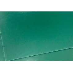 Plancha G10 de fibra de vidrio 100% - 400 x 250 x 0,5 mm.
