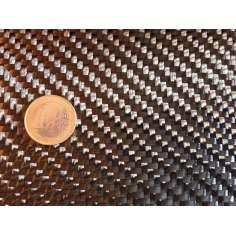 Tejido de fibra de carbono Sarga 2x2 12K peso 600gr/m2 ancho 1200 mm.