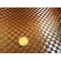Amostra comercial de fibra de carbono tecida 1x1 12K-210g/m2 - 250 x 200 mm.