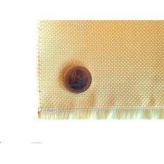 Amostra comercial de tecido de fibra de kevlar Tafetá 1x1 3K peso 180gr/m2 - 250mm x 200mm.