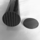 Carbon fiber cap for tubes with sizes (16mm, outside Ø - 14mm, inside Ø)