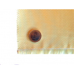 Tecido de fibra de Kevlar Tafetá 1x1 3K peso 180gr/m2 largura 1000 mm.