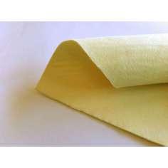 Muestra comercial de fieltro de Kevlar para confección, ropa y protecciones 300gr/m2 - Tejido estilo polar - Ancho 150 cm.
