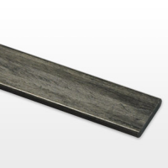 Commercial sample of carbon fiber flat bar (Variable size)