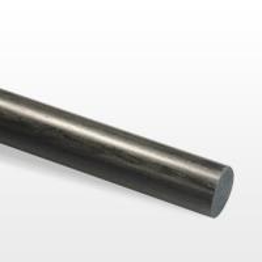 Varilla de fibra de carbono. Diámetro 2,5mm. Longitud 1000mm.