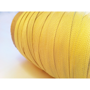 Flat braided kevlar fiber tape - 10mm.