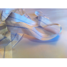 Cinta plana de fibra de vidrio bidireccional de 30mm. (110 gr/m²)