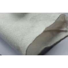 Amostra comercial HMPE resistente a cortes de feltro para roupas e proteções 210 gr / m2 - 20x25 cm.