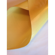 Commercial sample flexible kevlar fiber sheet - 50x50 mm.