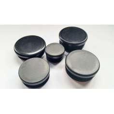 Flat plastic cap for tube (VARIOUS MEASUREMENTS)