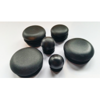 Rounded plastic cap for tube (VARIOUS MEASUREMENTS)