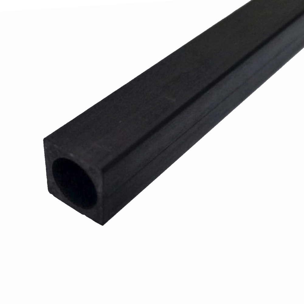Tube de fibre de carbone 100 /% mat 12 mm x 10 mm x 1000 mm