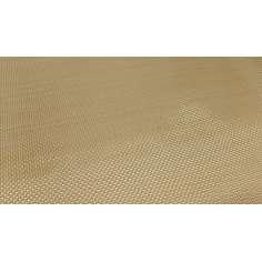 Amostra comercial de tecido Kevlar para roupas e proteção 420gr / m2 - 250x200 mm.
