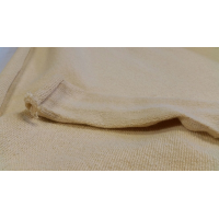 Commercial sample elastic fabric of Kevlar for clothing and protections 530gr / m2 - 250x200 mm.