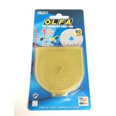 Cortador circular de substituição OLFA - ø 60 mm.