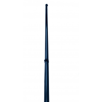 Modular pole of 10 meters length in carbon fiber - 2 meter sections