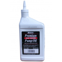 Premium oil for vacuum pump