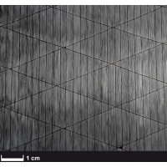 Fibra de carbono unidirecional 12K 125gr/m² - Largura 300 mm.