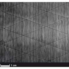 Amostra de fibra de carbono unidirecional 12K 125gr/m² - 300 x 150 mm.