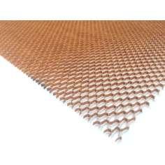 Núcleo do favo de mel de 2 mm em kevlar. espessura - 685 x 425 mm.