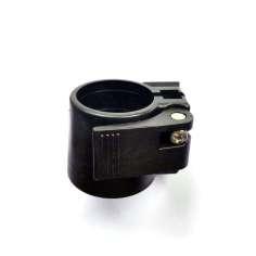 Abrazadera de nylon para unir tubos 23mm. Ø exterior + 26,5mm. Ø exterior