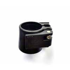 Abrazadera de nylon para unir tubos 30mm. Ø exterior + 33,5mm. Ø exterior
