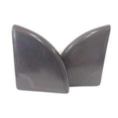Juego de protectores guardabarros para silla de ruedas 60% fibra de carbono