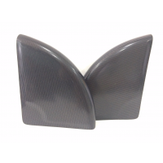 Protetores de pára-choque de cadeira de rodas ajustam 100% de fibra de carbono