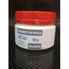 Pigmento em massa BRANCO - 100 gr.