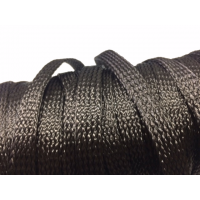 Commercial sample 20mm Ø Carbon fiber braided tubular sleeve