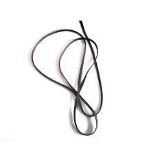 Muestra comercial manga tubular trenzada de fibra de carbono de 10mm Ø - (2,69g/m)