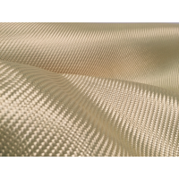 Commercial sample woven of kevlar fiber 2x2 3K weight 180gr/m2 - 250mm x 200mm.