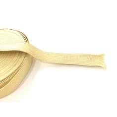 Cinta plana de fibra de kevlar trenzada de 14mm