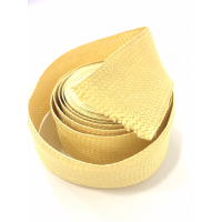 Commercial sample - Flat braided kevlar fiber tape - 30mm.