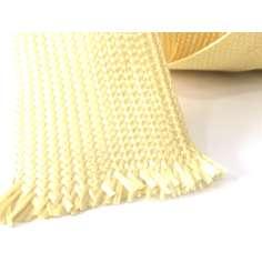 Muestra comercial de cinta plana de fibra de kevlar trenzada de 40mm