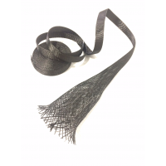 Comercial Sample 30mm Ø Carbon fiber braided tubular sleeve