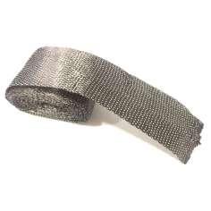 Amostra comercial de fita plana de fibra de carbono de 70mm.
