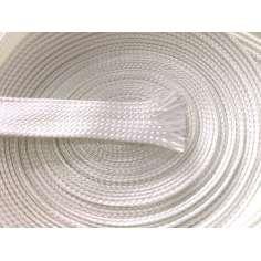 Manga tubular trançada de fibra de vidro - Ø 15 mm.