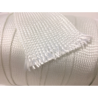 55mm Ø Glass fiber braided tubular sleeve