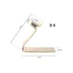 Mola metálica para tubo D5