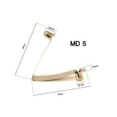 Muelle metálico DOBLE para tubo D5